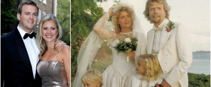 Holly Branson Weds on Necker Island