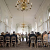 Ceremony in the Orangey Holland Park London