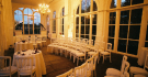 Ceremony seating round at Orangery Holland Park