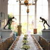 Long table dinning at Orangery Holland Park London
