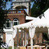Raj tent outside at Orangery Holland Park