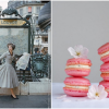 Parisian Lady and Pink Macaroons