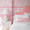 Pink Parisian Bed