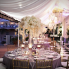 White and Pewter Wedding Reception