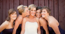 Bride and her Four Maids