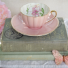 Pink and Gold Teacup set