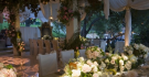 Hilary Duff Wedding Reception Table