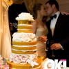 Naked Wedding Cake for Hilary Duff