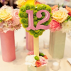 7 Creative Ways To Display Your Table Numbers