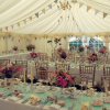 Beautiful Marquee Wedding With Bunting