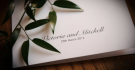 Wedding stationery at Andaz wedding