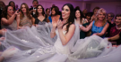 Gorgeous twirl in Pronovias Dress