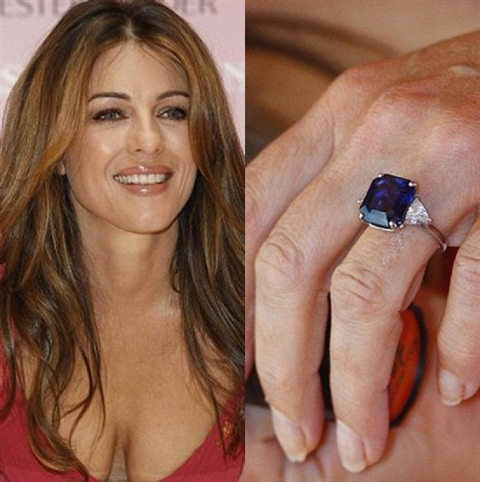 Elizabeth Hurley Engagement Ring