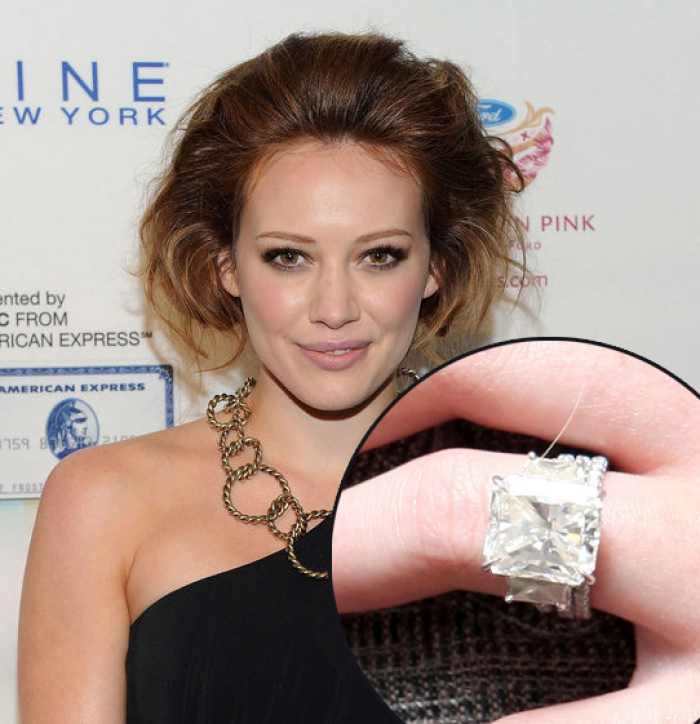 Hillary Duff Engagement Ring