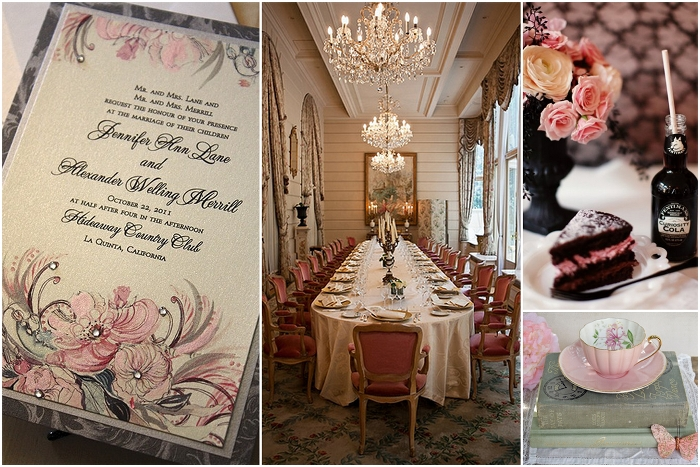 Jadore Paris, I Love Paris Wedding Inspiration Details and Decor Loks