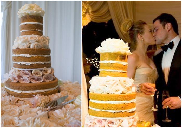 Hilary Duff Naked Wedding Cake
