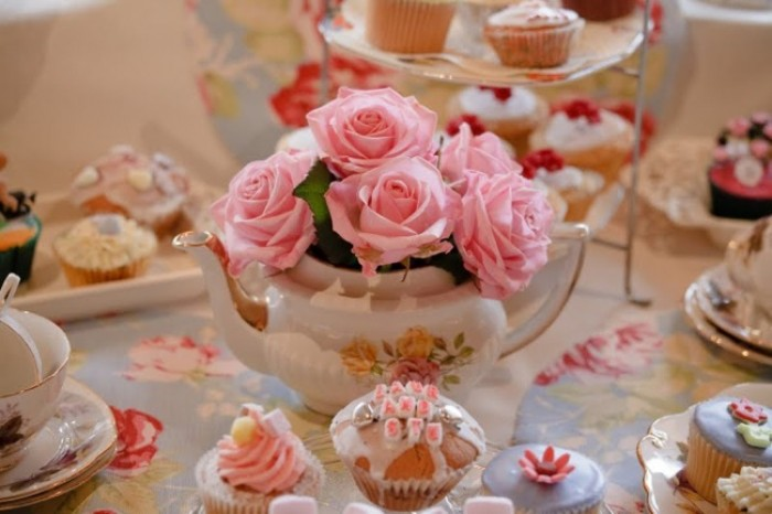 Blush pink vintage wedding theme and cakes