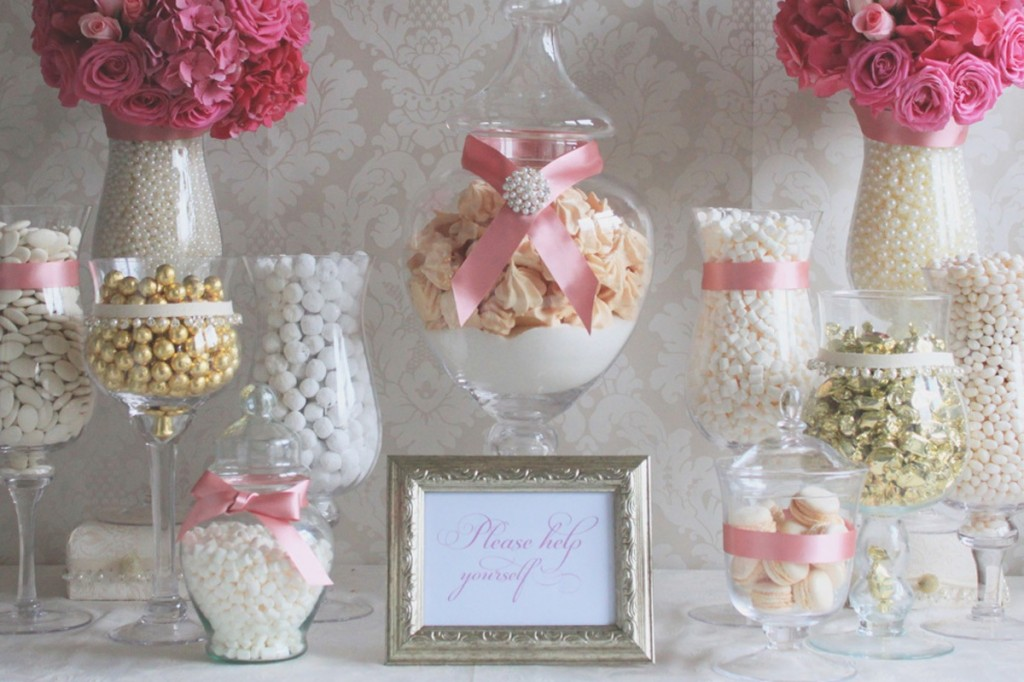 Inspiring Dessert Tables Elegant Invitations